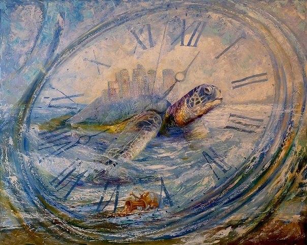 черепаха не знает времени