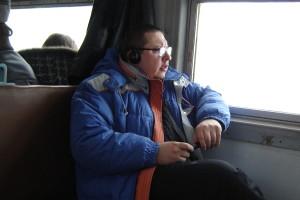 Шева в поїзді